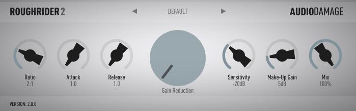 VSTフリープラグイン Audio Damage「Rough Rider 2」のオススメの使い方 「SGA1566」併用